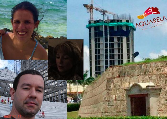 Los 3 jóvenes paisas dueños de la mole que va a tapar el Castillo de San Felipe en Cartagena