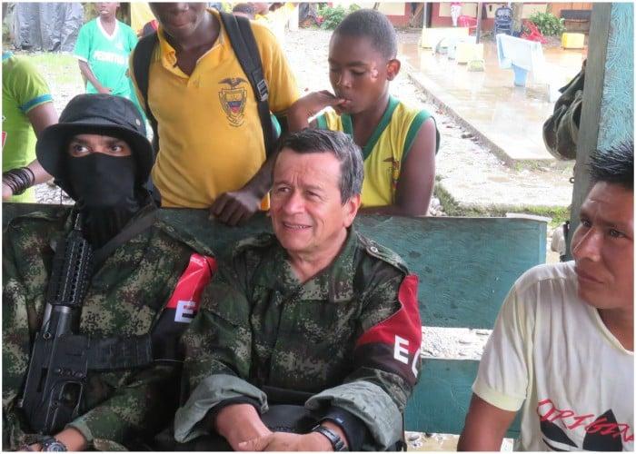 El reencuentro de Pablo Beltrán, comandante del ELN, con sus bases en el Chocó