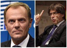 El polaco Donald Tusk que atajó a Carlos Puigdemont, el líder de la Indendencia de Cataluña