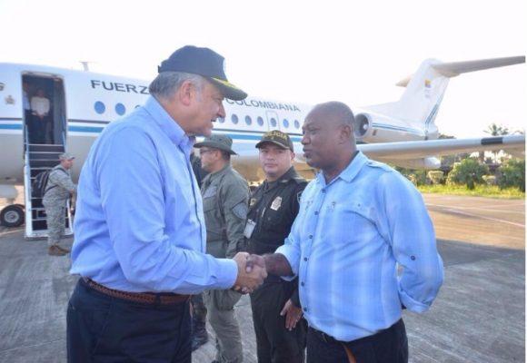 Vicepresidente Naranjo y cúpula de la Fiscalía viajan a Tumaco