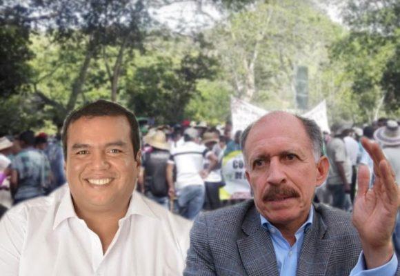La campaña del gobernador del Cauca Óscar Campo que enredó a Temístocles Ortega