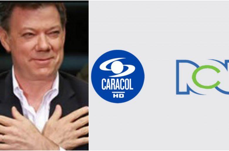 Los $35.000 millones que le paga Santos a RCN y Caracol