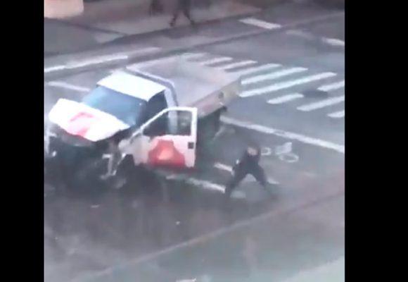 EN VIDEO: Policía de Nueva York captura al supuesto autor del ataque terrorista