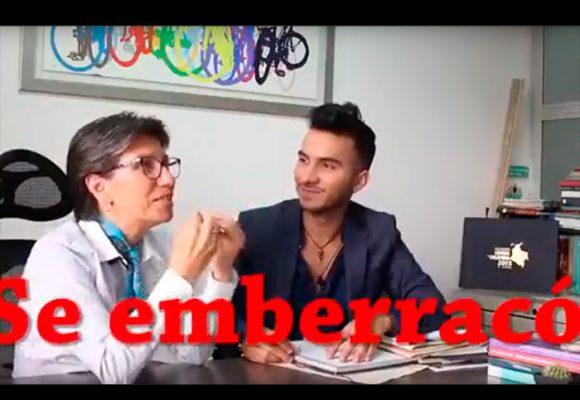 """VIDEO: La verdadera razón por la que Claudia López es """"gritona y grosera"""""""