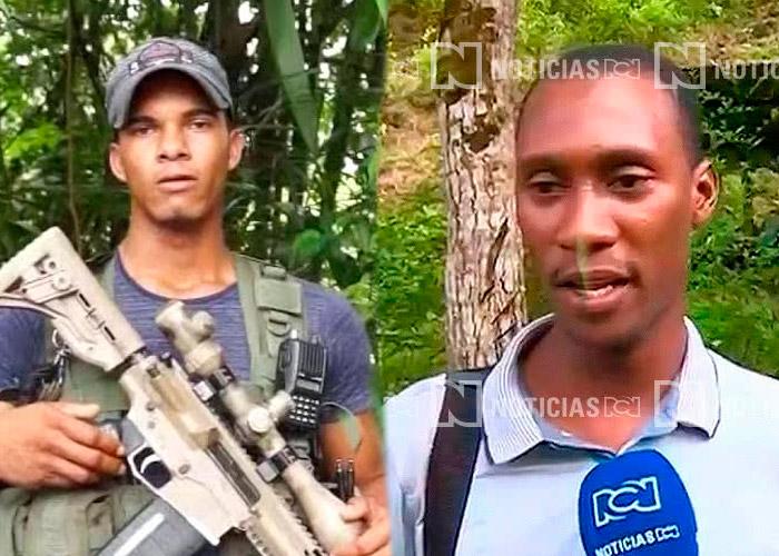 Fabián y Guacho, los disidentes de las Farc que serán perseguidos por los bombardeos del Ejército en Tumaco