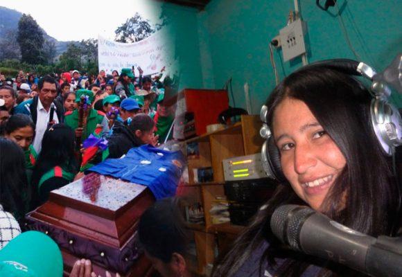 Adiós a Efigenia, la querida periodista indígena de Coconuco