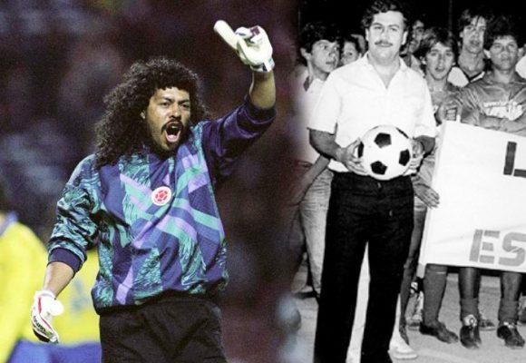 La reaparición de Higuita en la política, recuerda su amistad con Pablo Escobar