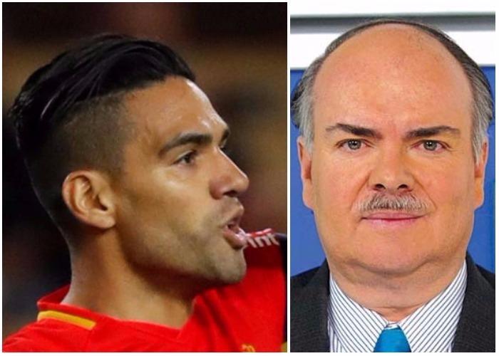 Falcao le cierra la boca a Iván Mejía