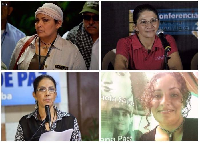 Las mujeres de las Farc que podrían llegar al Congreso