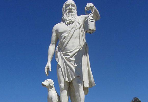 La lámpara de Diógenes