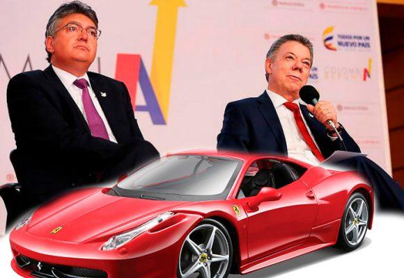 A 20 kmts/hora en un Ferrari