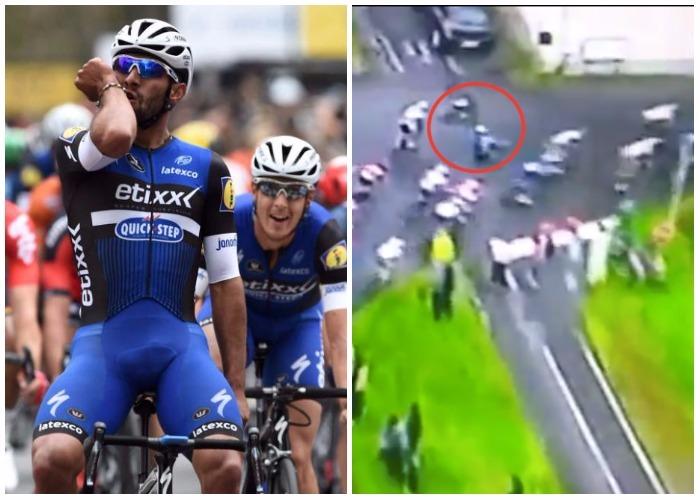 VIDEO: La mala suerte de Fernando Gaviria