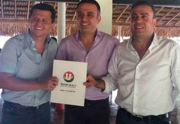 Los amigos que llevaron a la gobernación de Córdoba a Edwin, el hermano de Musa Besaile