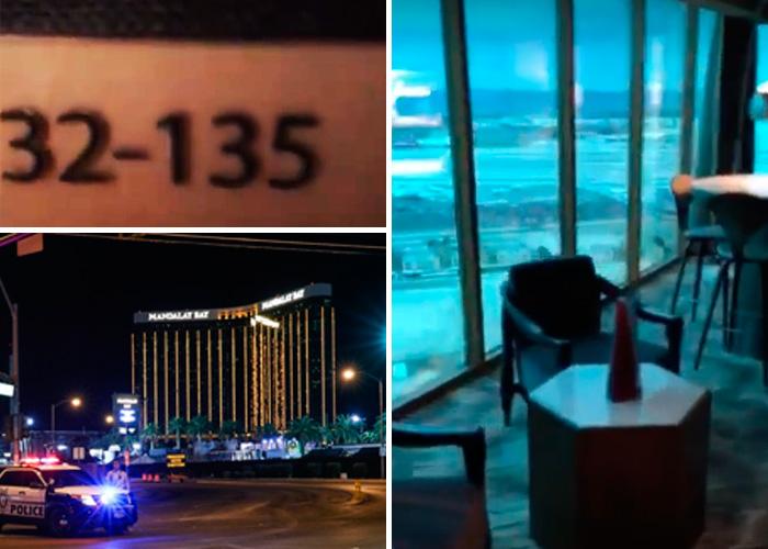 EN VIDEO: así es el cuarto desde donde se efectuó el mayor tiroteo de Estados Unidos