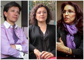 Claudia López, Angélica Lozano y Viviane Morales, las 3 duras en el debate de la JEP