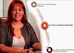 Así aparece Luz Mary Guerrero, de Servientrega, en los Panamá Papers con otros 1.245 colombianos