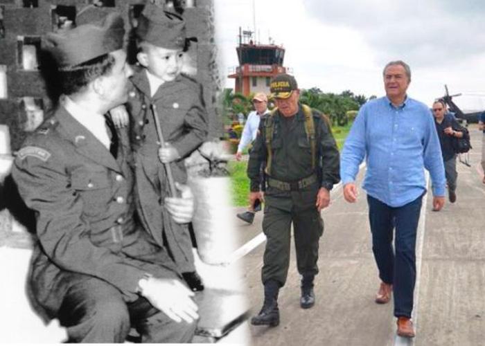 Óscar Naranjo, de estudiante de sociología de la U. Nacional al policía más poderoso de Colombia