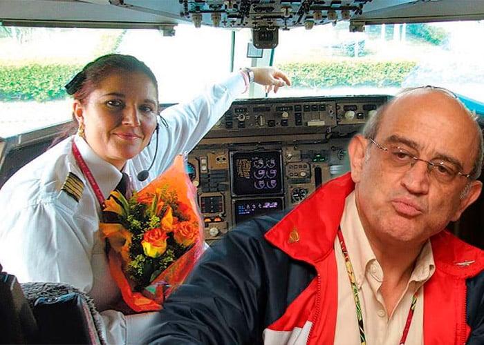 Efromovich no pudo evitar que la legendaria piloto Maribel Porras siguiera volando