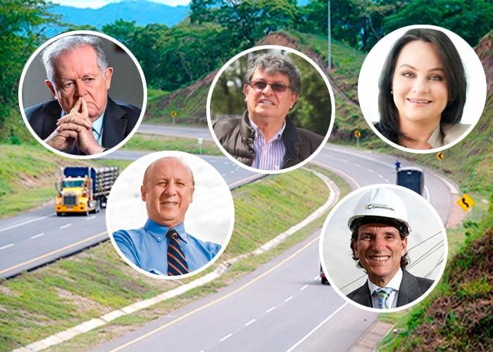 Los cinco grandes dueños de las carreteras de Colombia
