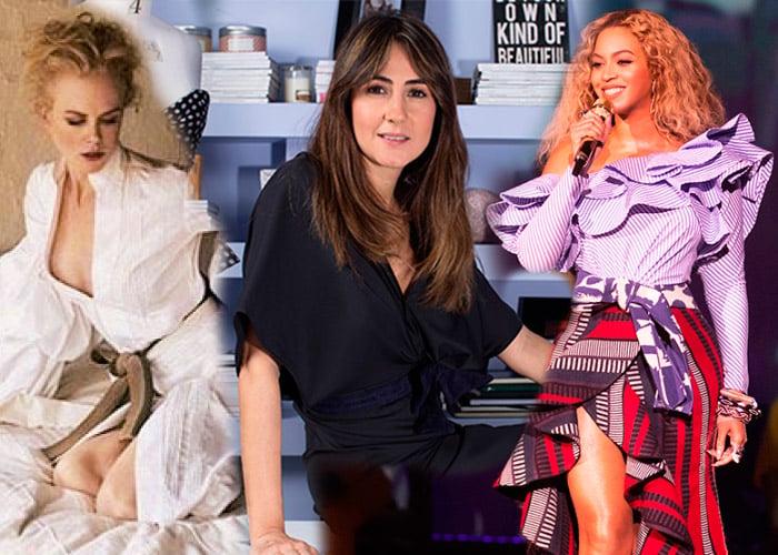 Beyonce y Nicole Kidman se visten con la colombiana Johana Ortiz