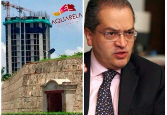 El Procurador toma acciones frente al proyecto Acuarela que taparía el Castillo de San Felipe