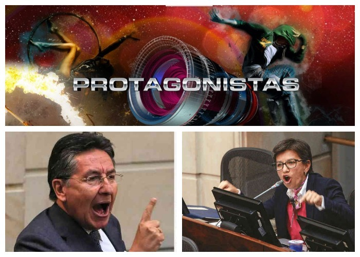 La pelea entre el Fiscal Martínez y Claudia López tiene más rating que Protagonistas 2017