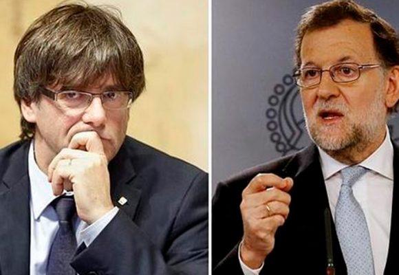 Mano dura de Rajoy: destituido Puidgemont y todo el gobierno catalán