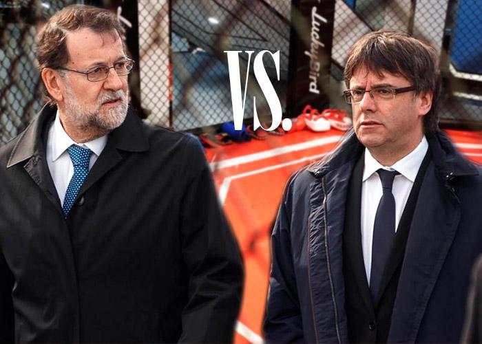 Rajoy vs Puigdemont, el pulso de dos radicales que reventaron España