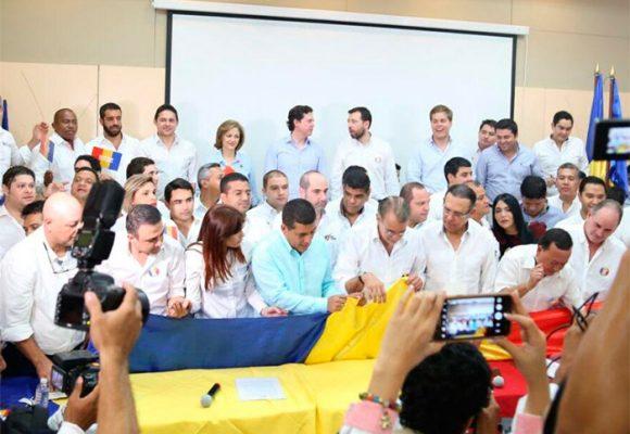 La fiesta caribe que se le tiraron al gobernador Verano de la Rosa los estudiantes de la U. del Atlántico