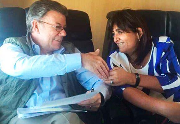 María Lorena Gutiérrez, la imprescindible de Santos