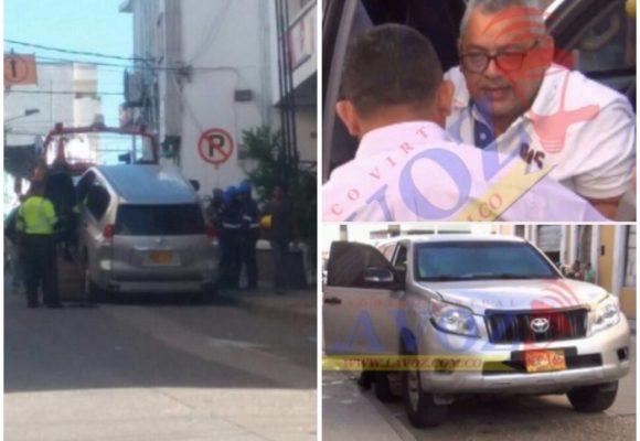 ¿Qué dice la UNP tras el accidente del tío del alcade Quessep en el carro destinado por ellos?