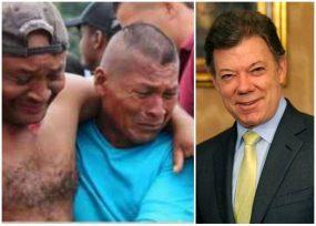 Santos deja plantada a la gente en Tumaco. La comunidad internacional prende alarmas