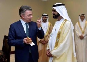 Los mismos príncipes de Emiratos Árabes donantes de USD 45 millones esperan licencia ambiental en Santurbán