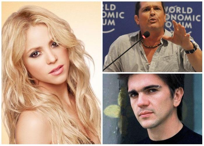 El desplante de Shakira a Juanes y Carlos Vives