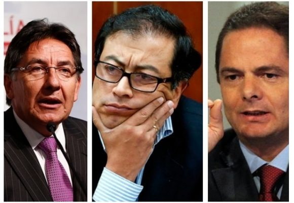 Desde su Twitter Petro denuncia complot de Vargas Lleras y el Fiscal Martínez para capturarlo