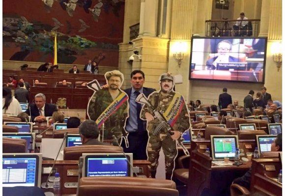 La ira del representante Álvaro Hernán Prada con el Partido FARC