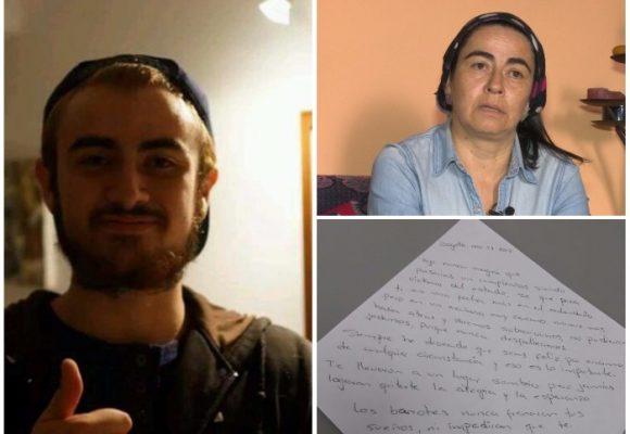 Mateo Gutiérrez no tuvo que ver con el atentado en el Andino