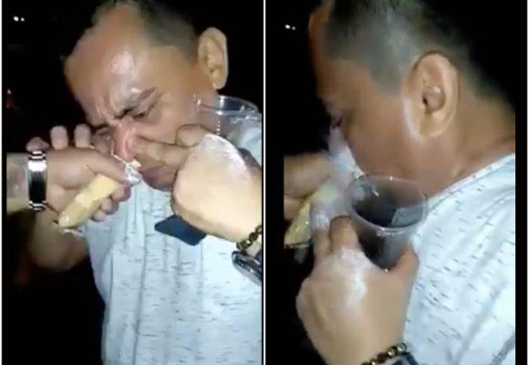 """VIDEO: Un funcionario de la alcaldía de Malambo se """"mete el pase más grande de la historia"""""""