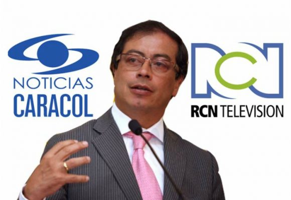 Caracol y RCN dijeron que Petro era el peor alcalde del mundo por ayudar a los pobres