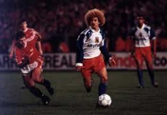 Video: Cuando el Pibe Valderrama destrozó al poderoso Paris Saint Germain