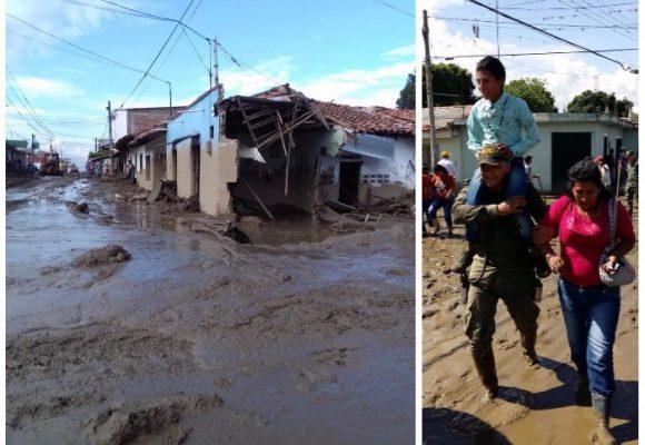 Corinto: Los militares y vecinos evitaron que la avalancha fuera una tragedia mayor