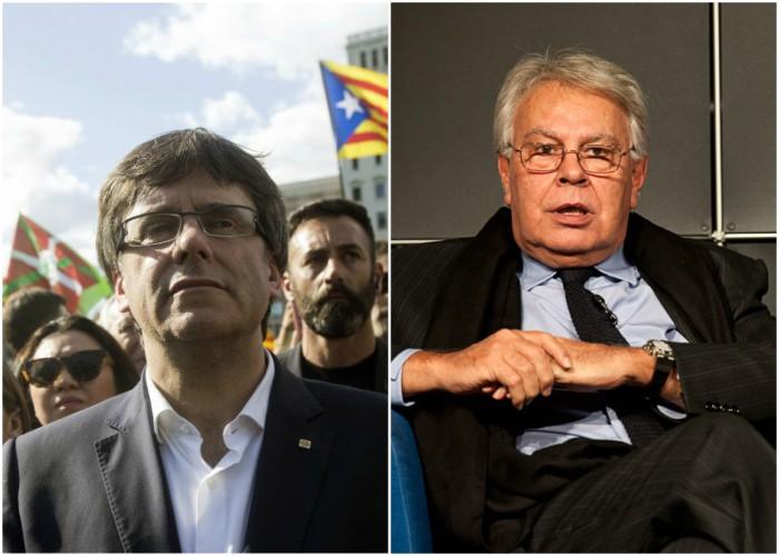 Puigdemont no soportó la presión y se entregó