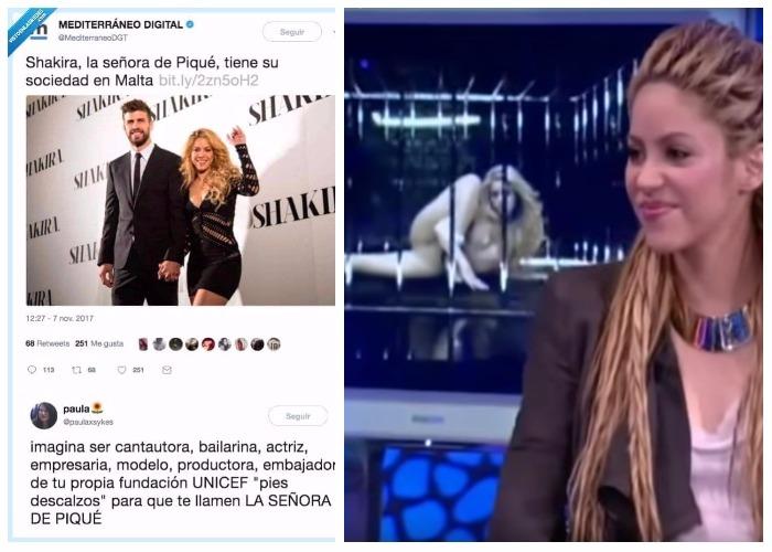 El machismo que azota a Shakira en España