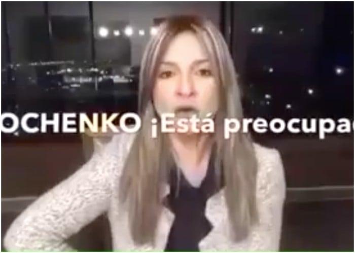 VIDEO: Vicky Dávila ahora defiende a las FARC