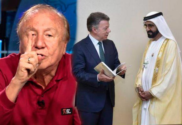 Le preguntaré a Santos qué hizo en Abu Dhabi para dejarnos sin agua: Alcalde de Bucaramanga