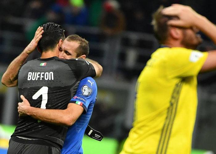 Italia entera llora la tragedia de Buffon