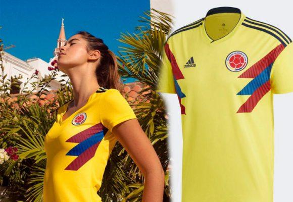 Paulina Vega, la primera en ponerse la nueva camiseta de la Selección Colombia