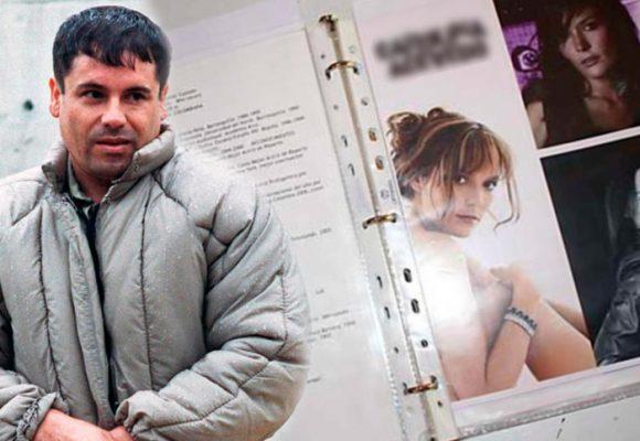 Las actrices colombianas preferidas por el Chapo Guzmán según su catálogo