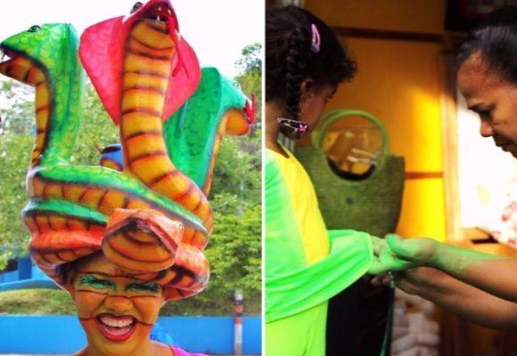 Maritza Zúñiga, el arte de hacer un disfraz