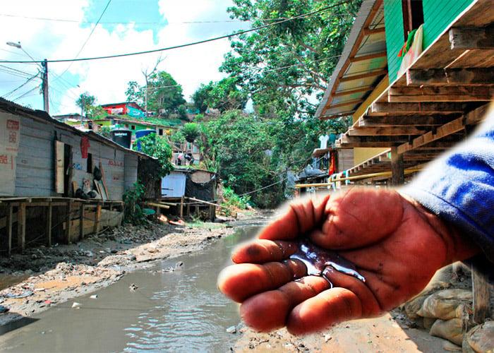Niños de 6 dedos y sin piernas: la tragedia de vivir al lado de la Cianurada en Segovia, Antioquia